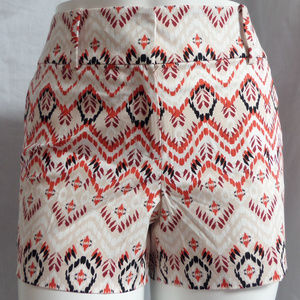 MULTI GEO TRIBAL PRINT CASUAL CITY MODERN SHORTS